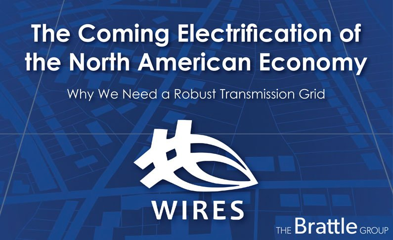 The Brattle Group-The Coming Electrification of the NA Economy cover