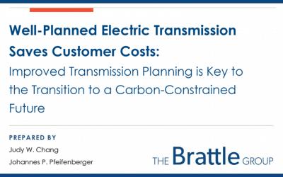 Well‐Planned Electric Transmission Saves Customer Costs