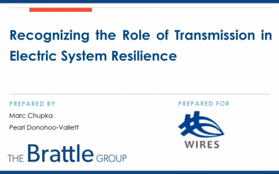 Recognizing the Role of Transmission in Electric System Resilience
