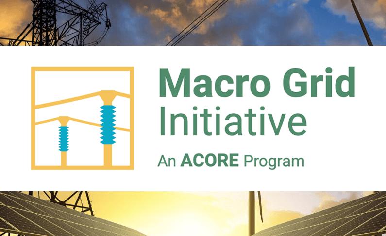 Macro Grid Initiative