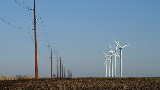 Transmission and wind turbines in Iowa by ITC