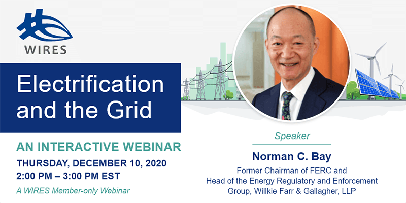 Electrification and the Grid with Norman C Bay