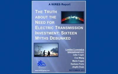 The Truth About the Need for Electric Transmission Investment: Sixteen Myths Debunked