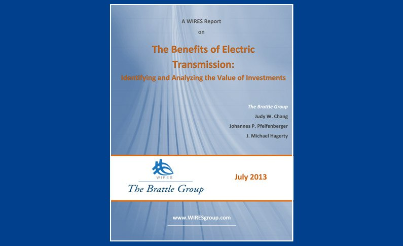 The Benefits of Electric Transmission report cover 2013