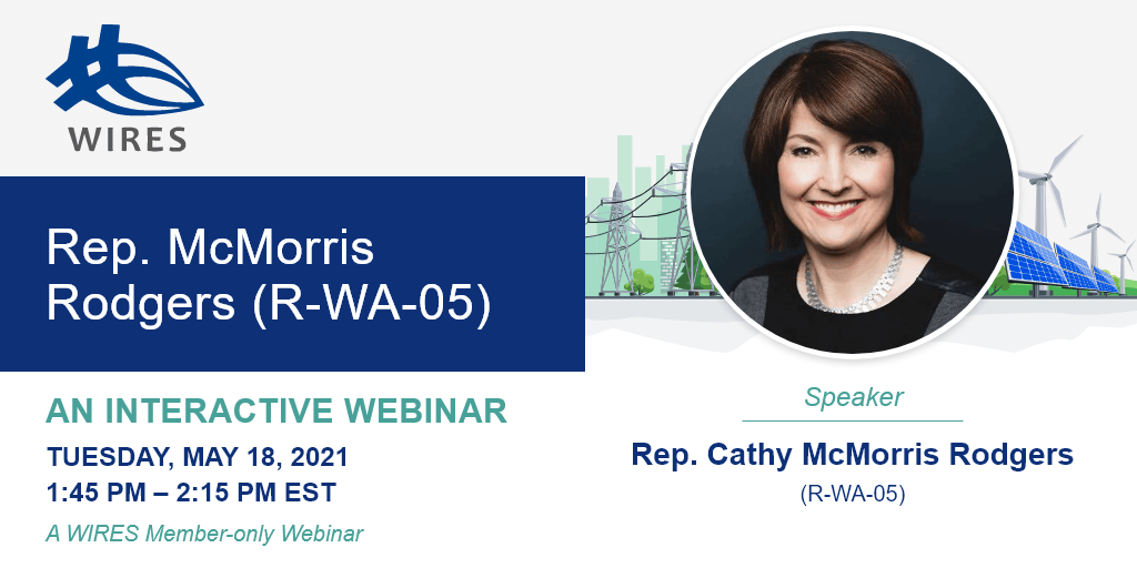 WIRES webinar with Rep. McMorris Rodgers